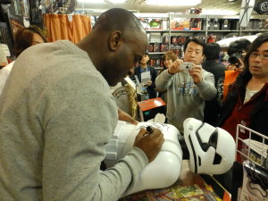 Phoenix James - Star Wars - First Order Stormtrooper Actors – Autograph Signing and Photo Session Tour - Tokyo, Japan 60 Episode 7 8 9 VII VIII IX