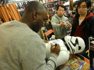 Phoenix James - Star Wars - First Order Stormtrooper Actors – Autograph Signing and Photo Session Tour - Tokyo, Japan 61 Episode 7 8 9 VII VIII IX