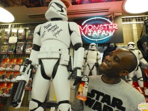 Phoenix James - Star Wars - First Order Stormtrooper Actors – Autograph Signing and Photo Session Tour - Tokyo, Japan 62 Episode 7 8 9 VII VIII IX