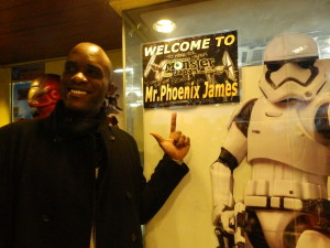 Phoenix James - Star Wars - First Order Stormtrooper Actors – Autograph Signing and Photo Session Tour - Tokyo, Japan 63 Episode 7 8 9 VII VIII IX