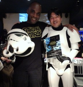 Phoenix James - Star Wars - First Order Stormtrooper Actor – Autograph Signing and Photo Session Tour - Tokyo, Japan 65