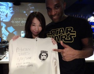 Phoenix James - Star Wars - First Order Stormtrooper Actor – Autograph Signing and Photo Session Tour - Tokyo, Japan 67
