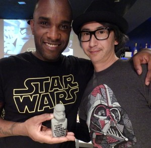 Phoenix James - Star Wars - First Order Stormtrooper Actor – Autograph Signing and Photo Session Tour - Tokyo, Japan 69