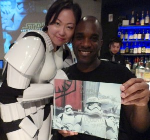 Phoenix James - Star Wars - First Order Stormtrooper Actor – Autograph Signing and Photo Session Tour - Tokyo, Japan 72 Episode 7 8 9 VII VIII IX