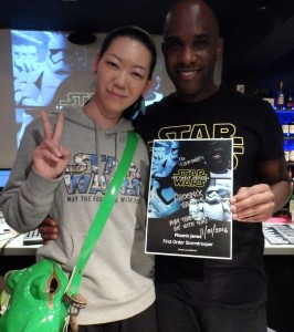 Phoenix James - Star Wars - First Order Stormtrooper Actor – Autograph Signing and Photo Session Tour - Tokyo, Japan 73