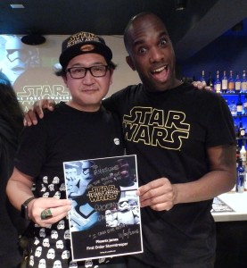Phoenix James - Star Wars - First Order Stormtrooper Actor – Autograph Signing and Photo Session Tour - Tokyo, Japan 84 Episode 7 8 9 VII VIII IX