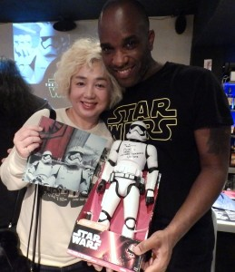 Phoenix James - Star Wars - First Order Stormtrooper Actor – Autograph Signing and Photo Session Tour - Tokyo, Japan 86