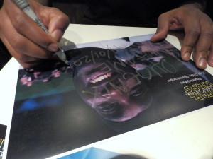 Phoenix James - Star Wars - First Order Stormtrooper Actor – Autograph Signing and Photo Session Tour - Tokyo, Japan 87 Episode 7 8 9 VII VIII IX