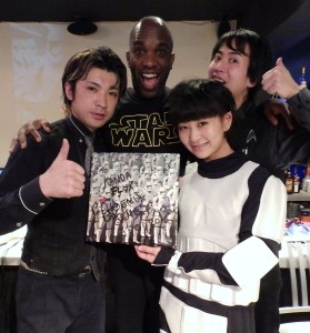 Phoenix James - Star Wars - First Order Stormtrooper Actor – Autograph Signing and Photo Session Tour - Tokyo, Japan 88