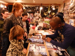 Phoenix James - Star Wars - First Order Stormtrooper Actor – Autograph Signing and Photo Session Tour - Tokyo, Japan 9