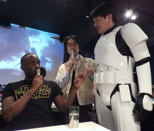 Phoenix James - Star Wars - First Order Stormtrooper Actor – Autograph Signing and Photo Session Tour - Tokyo, Japan 90 Episode 7 8 9 VII VIII IX
