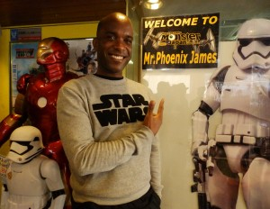Phoenix James - Star Wars - First Order Stormtrooper Actors – Autograph Signing and Photo Session Tour - Tokyo, Japan 92 Episode 7 8 9 VII VIII IX