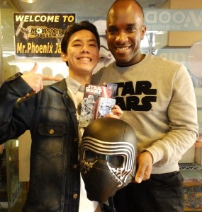 Phoenix James - Star Wars - First Order Stormtrooper Actor – Autograph Signing and Photo Session Tour - Tokyo, Japan 95