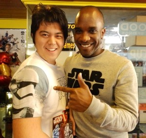 Phoenix James - Star Wars - First Order Stormtrooper Actor – Autograph Signing and Photo Session Tour - Tokyo, Japan 96
