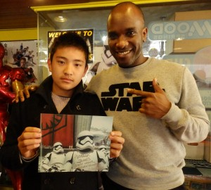 Phoenix James - Star Wars - First Order Stormtrooper Actor – Autograph Signing and Photo Session Tour - Tokyo, Japan 97