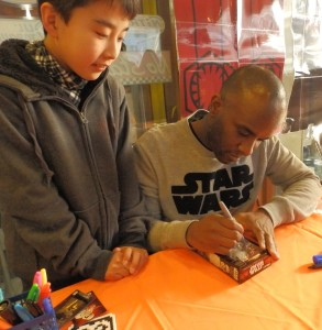 Phoenix James - Star Wars - First Order Stormtrooper Actor – Autograph Signing and Photo Session Tour - Tokyo, Japan 99 Episode 7 8 9 VII VIII IX