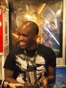 Phoenix James - Star Wars - First Order Stormtrooper Actors - Bandit-Selected Toys store - Tokyo Japan Episode 7 8 9 VII VIII IX