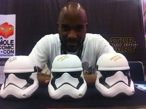 Phoenix James - Star Wars - First Order Stormtrooper Actor in Mexico City at La Mole Comic Con 9