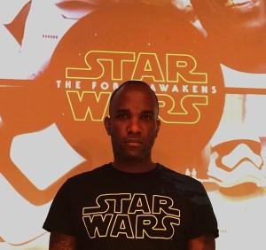 Phoenix James - Star Wars - First Order Stormtrooper Actors - Kanda Flux in Tokyo Japan Episode 7 8 9 VII VIII IX