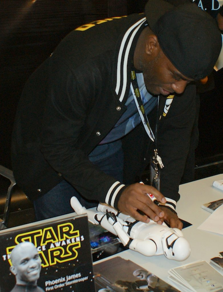 Phoenix James - Star Wars - First Order - Stormtrooper Actor - Role Play Convention - 2016 - Cologne - Koln - Germany 11