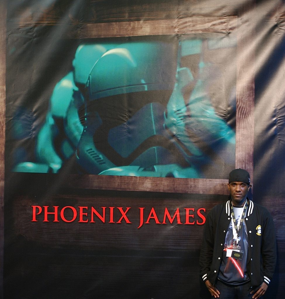 Phoenix James - Star Wars - First Order - Stormtrooper Actor - Role Play Convention - 2016 - Cologne - Koln - Germany 3