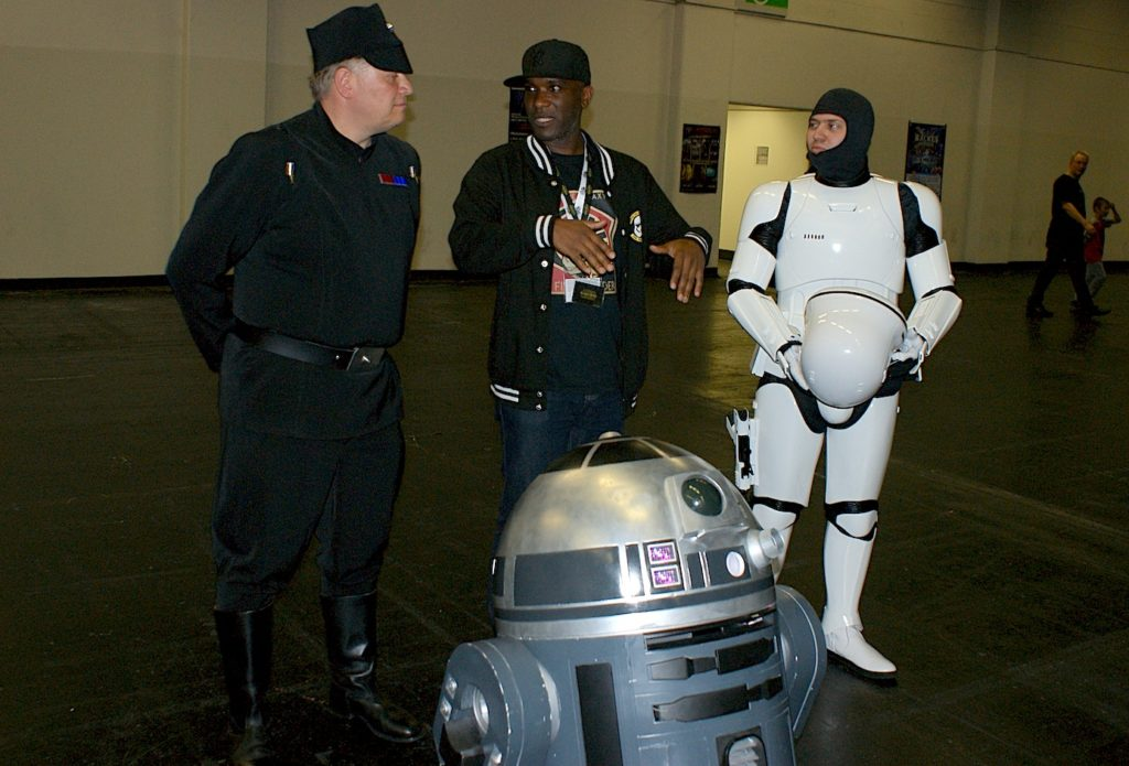 Phoenix James - Star Wars - First Order - Stormtrooper Actor - Role Play Convention - 2016 - Cologne - Koln - Germany 42