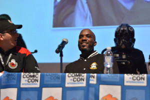 Phoenix James - Star Wars First Order Stromtrooper Actor at La Mole Comic Con in Mexico - Photo by Marianne Perez Mooren 13