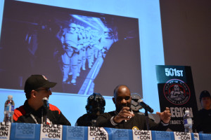 Phoenix James - Star Wars First Order Stromtrooper Actor at La Mole Comic Con in Mexico - Photo by Marianne Perez Mooren 17