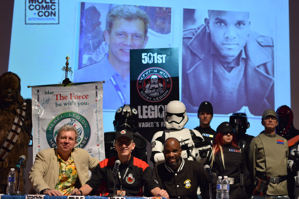 Phoenix James - Star Wars First Order Stromtrooper Actor at La Mole Comic Con in Mexico - Photo by Marianne Perez Mooren 19