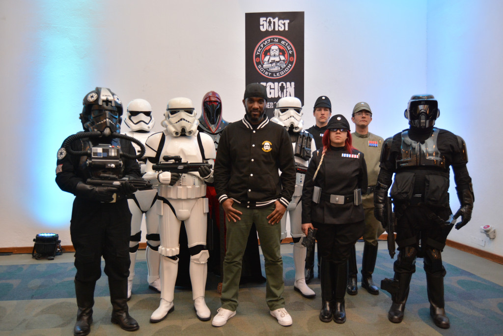 Phoenix James - Star Wars First Order Stromtrooper Actor at La Mole Comic Con in Mexico - Photo by Marianne Perez Mooren 21