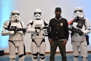Phoenix James - Star Wars First Order Stromtrooper Actor at La Mole Comic Con in Mexico - Photo by Marianne Perez Mooren 22
