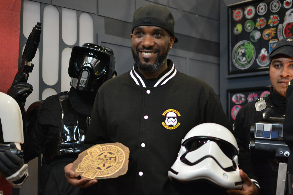Phoenix James - Star Wars First Order Stromtrooper Actor at La Mole Comic Con in Mexico - Photo by Marianne Perez Mooren 31