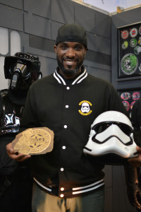 Phoenix James - Star Wars First Order Stromtrooper Actor at La Mole Comic Con in Mexico - Photo by Marianne Perez Mooren 32