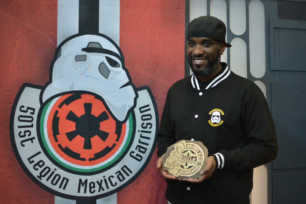 Phoenix James - Star Wars First Order Stromtrooper Actor at La Mole Comic Con in Mexico - Photo by Marianne Perez Mooren 34