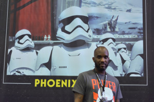 Phoenix James - Star Wars First Order Stromtrooper Actor at La Mole Comic Con in Mexico - Photo by Marianne Perez Mooren 4