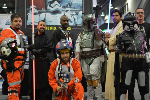 Phoenix James - Star Wars First Order Stromtrooper Actor at La Mole Comic Con in Mexico - Photo by Marianne Perez Mooren 5