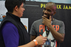 Phoenix James - Star Wars First Order Stromtrooper Actor at La Mole Comic Con in Mexico - Photo by Marianne Perez Mooren 6