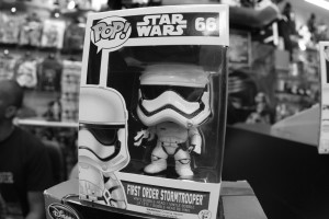 Phoenix James - Star Wars The Force Awakens First Order Stormtrooper Actor Autograph Signing and Photo Session at Pulp's Toys in Paris, France 21