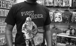 Phoenix James - Star Wars The Force Awakens First Order Stormtrooper Actor Autograph Signing at Pulp's Toys in Paris, France 10