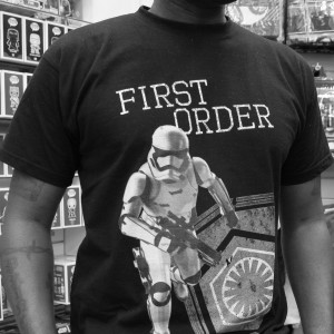 Phoenix James - Star Wars The Force Awakens First Order Stormtrooper Actor Autograph Signing in Paris France 7