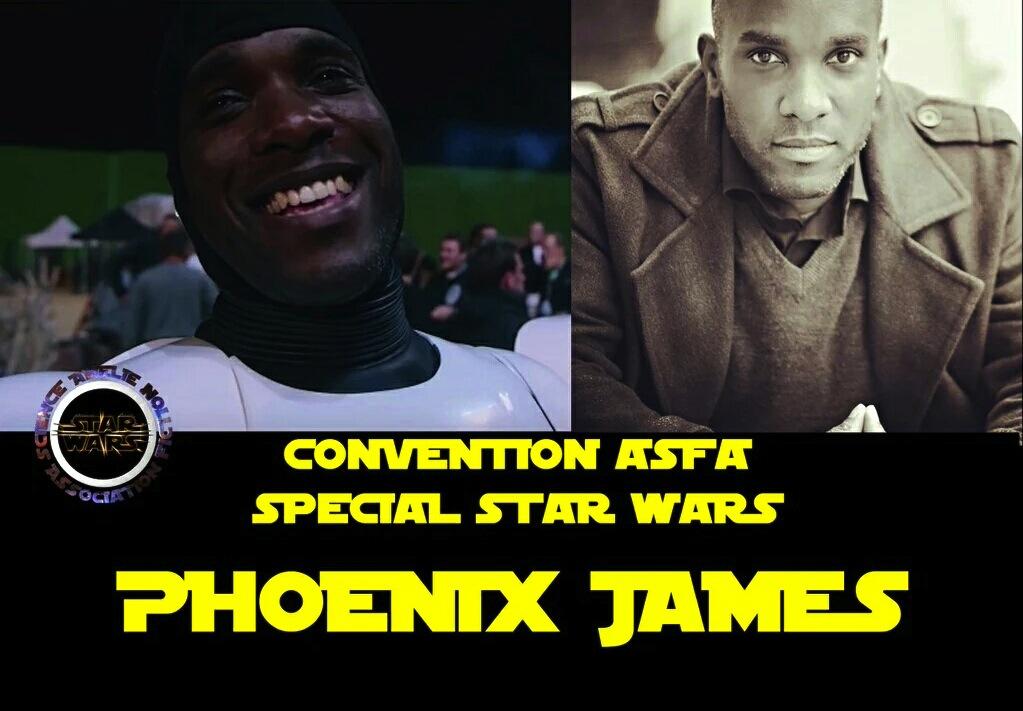 Phoenix James - Stormtrooper Actor - ASFA Convention Star Wars Special