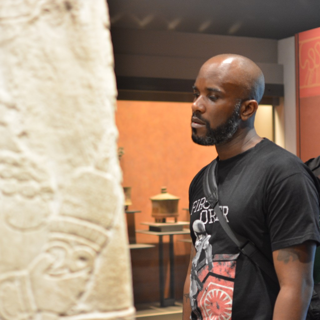 Phoenix James visits the Teotihuacan Pyramids and The National Museum of Anthropology in Mexico-15