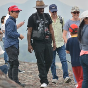 Phoenix James visits the Teotihuacan Pyramids and The National Museum of Anthropology in Mexico-3