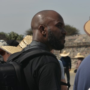 Phoenix James visits the Teotihuacan Pyramids and The National Museum of Anthropology in Mexico-6