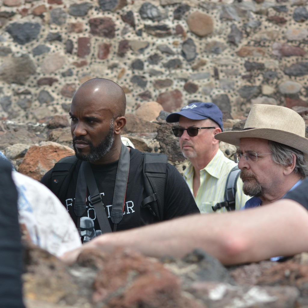 Phoenix James visits the Teotihuacan Pyramids and The National Museum of Anthropology in Mexico-8