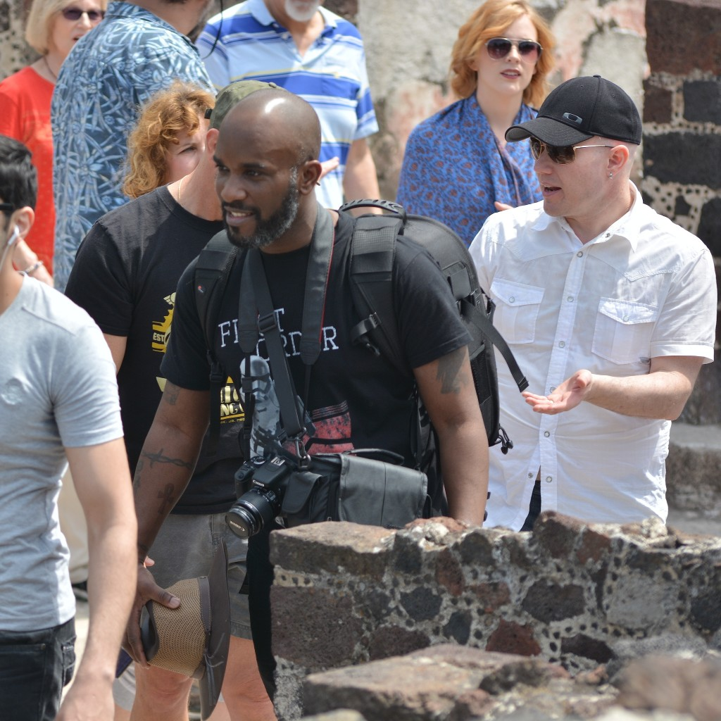 Phoenix James visits the Teotihuacan Pyramids and The National Museum of Anthropology in Mexico-9