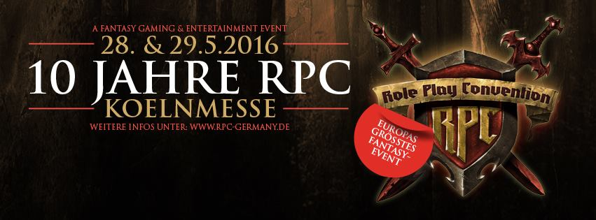 Phoenix James will appear as a guest at RPC - Role Play Convention 10th Year Anniversary in Cologne Koln Germany at Koelnmesse GmbH