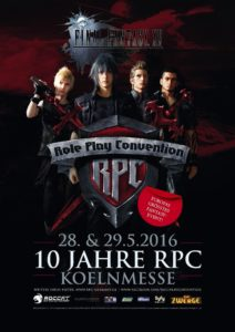 Phoenix James will appear as a guest at RPC Role Play Convention 10th Year Anniversary Event in Cologne Koln Germany at Koelnmesse GmbH