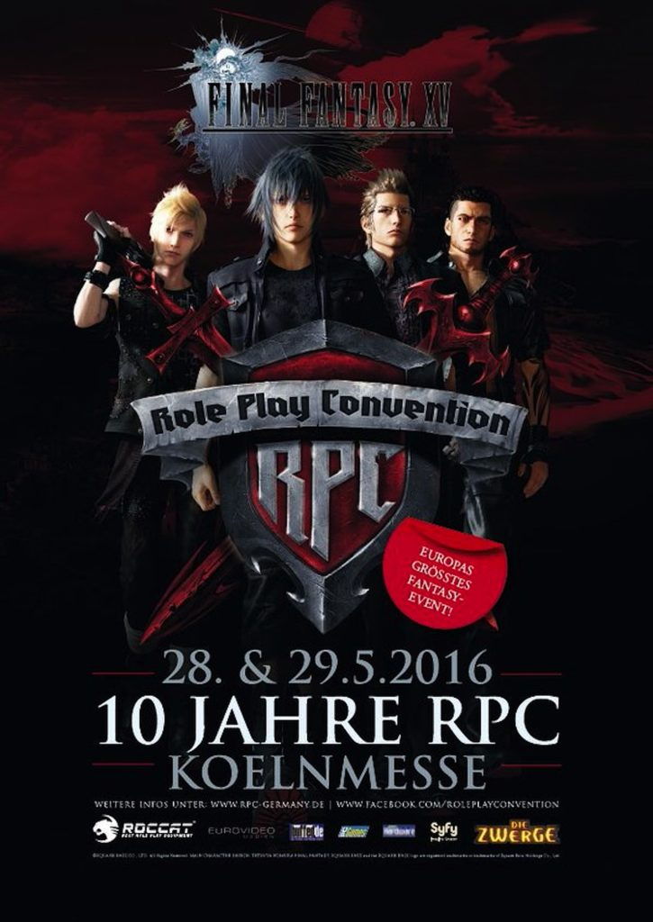 Phoenix James will appear at RPC Role Play Convention 10th Year Anniversary Event in Cologne Koln Germany at Koelnmesse GmbH