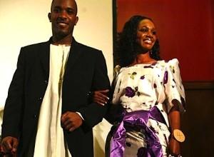 Phoenix James with Miss East Africa 2007 First Runner Up Contestant - Doreen Nabunya